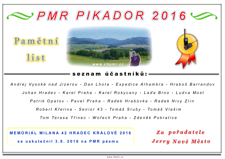 Pikador 2016