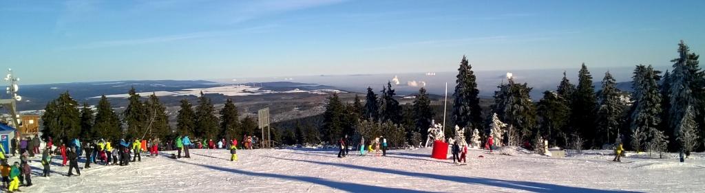 Výhled z Klínovce - foto Zdeněk Javorná