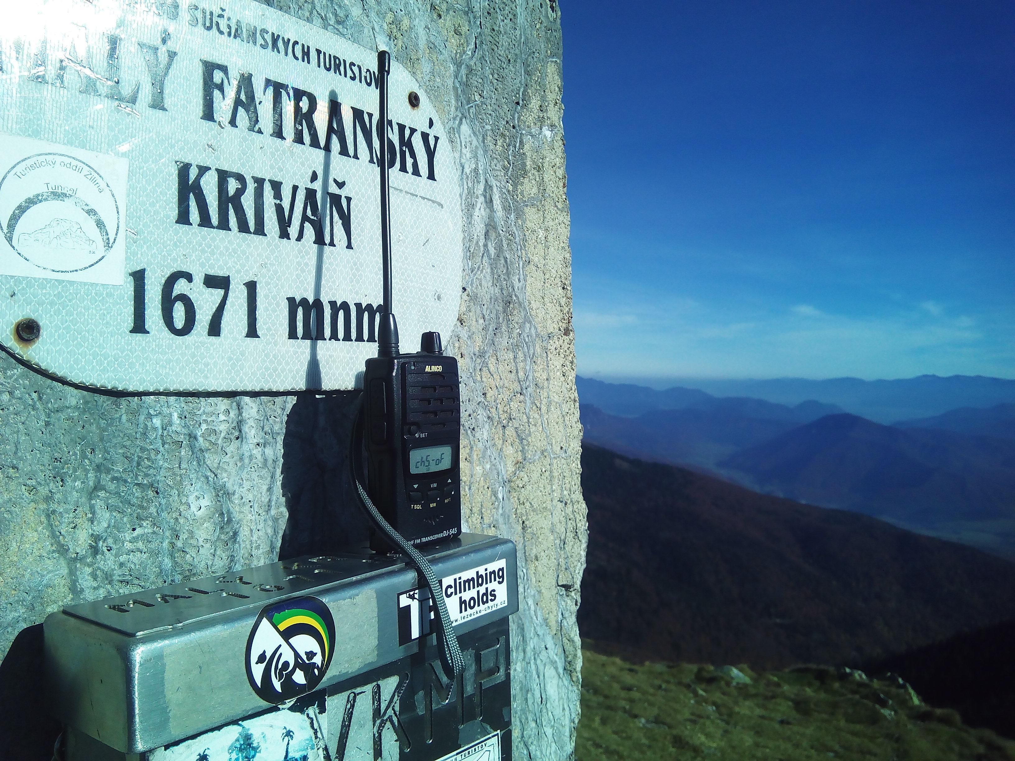 Maly Krivan vzdaleny pres 300 km