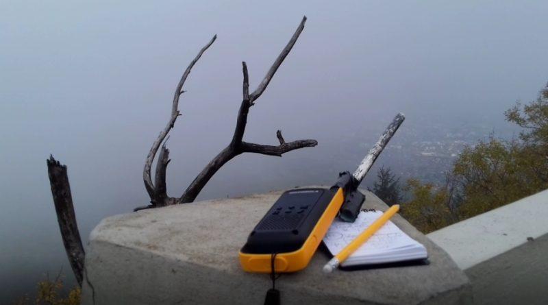 Motorola T82 Extreme před testem na úbočí Ještědu